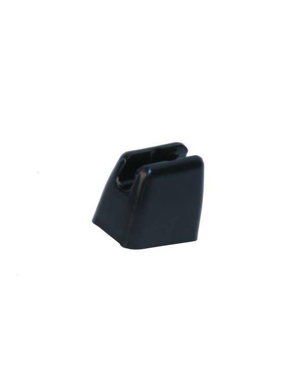 Clip soporte parasol. Negro