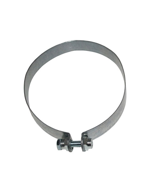 Exhaust Silencer Strap, Stainless Steel, Right