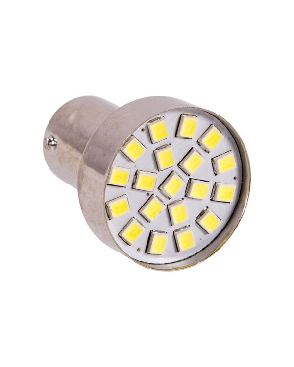 LED Bulb 382 12V 21W with BA15S Contact (Clear)