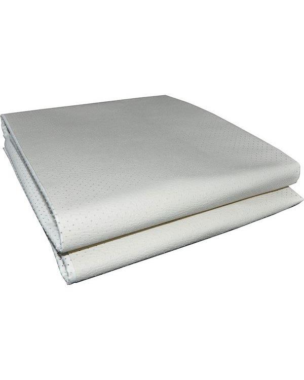 Kit tapizado techo en vinilo blanco perforado. No techo solar