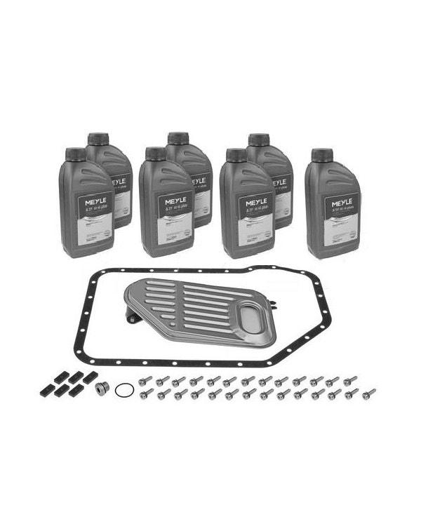 Kit filtro de aceite caja de cambios Tiptronic. Incluye aceite.