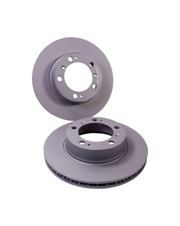 Brake Rotors Front Pair
