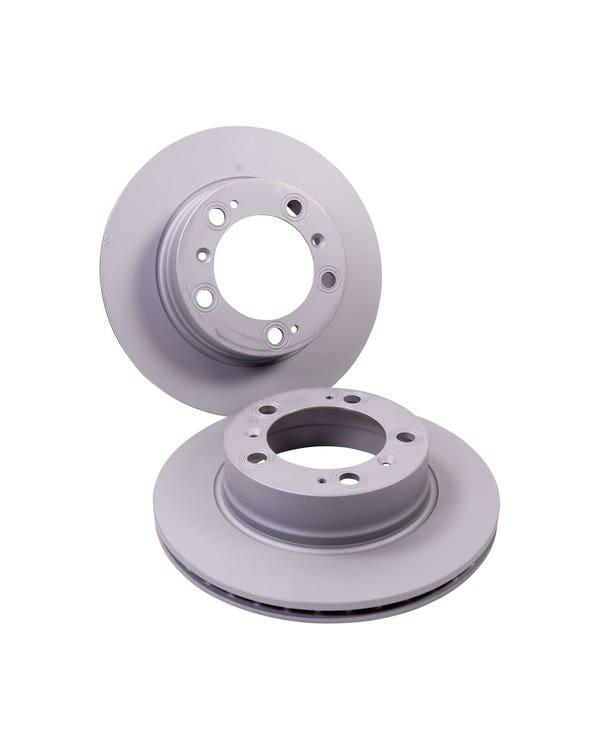 Brake Rotors Rear Pair