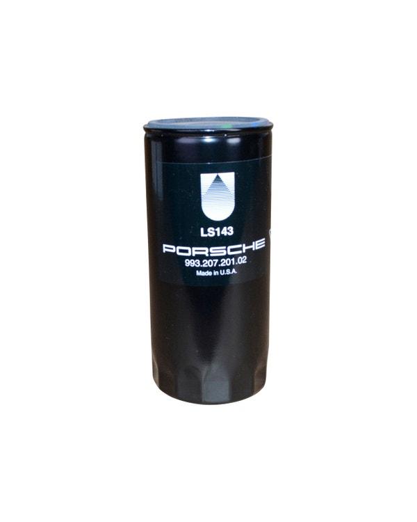 Filtro de aceite sobre termostato