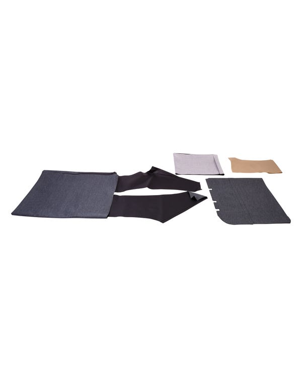Headliner with Sunroof, Black