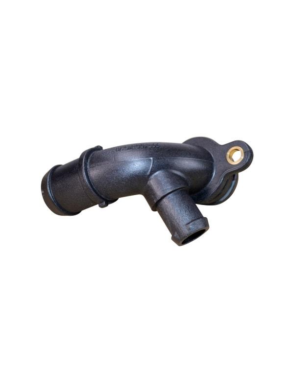 Conector manguera de refrigerante para soporte de filtro de aceite