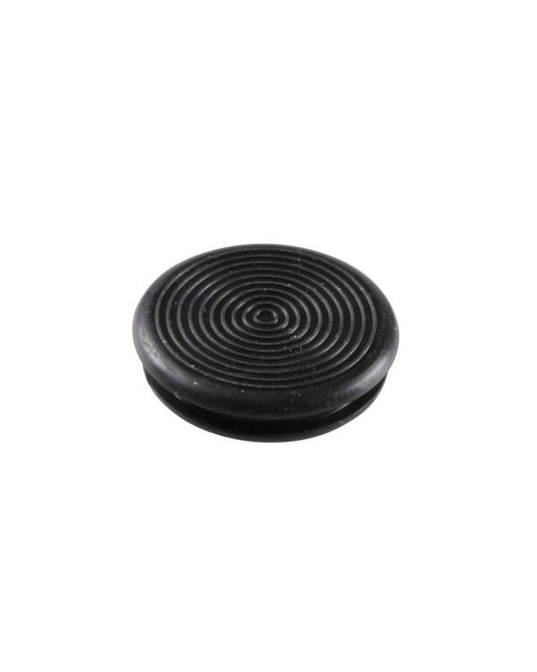 Door Black Rubber Plug