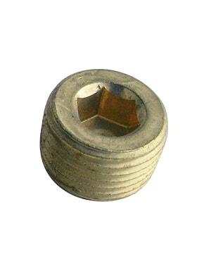 Metallstopfen mit Sechskantloch 3/8 NPT