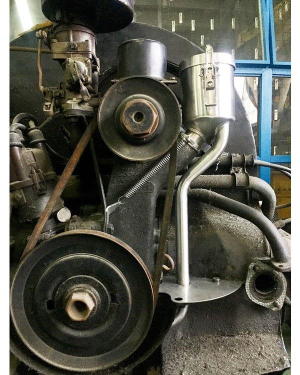 Llenado de Aceite Vintage Speed 25-36hp