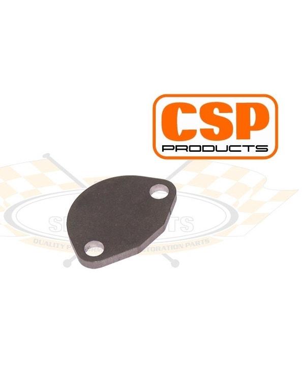 CSP Fuel Pump Block Off Plate Stainless Steel