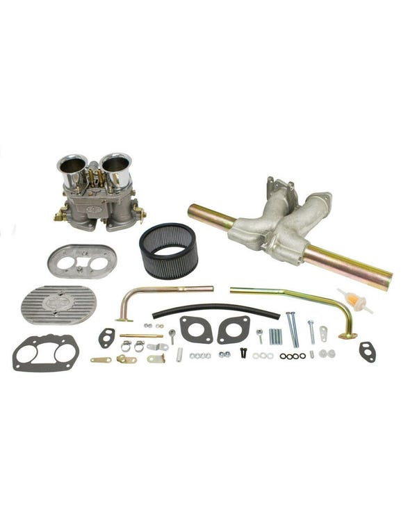 EMPI Single D 45mm Deluxe Carburettor Kit, Twinport