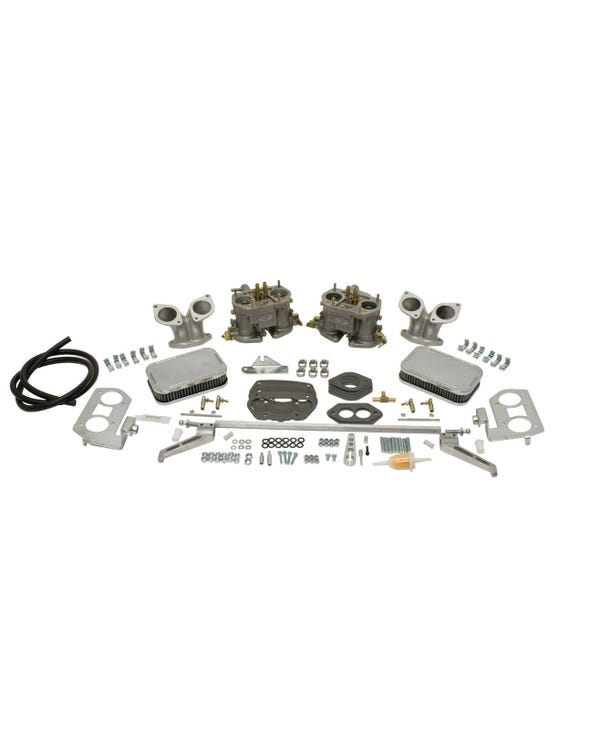 EMPI Twin D 40mm Deluxe Carburettor Kit, Type 3