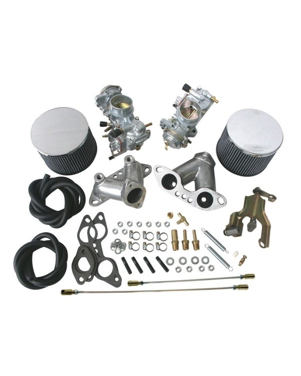 Solex Twin 34mm Carburettor Kit with Choke, Type 4