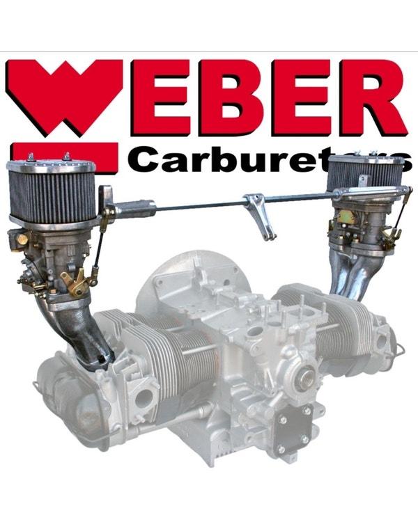 Kit carburadores  Weber 40 IDF
