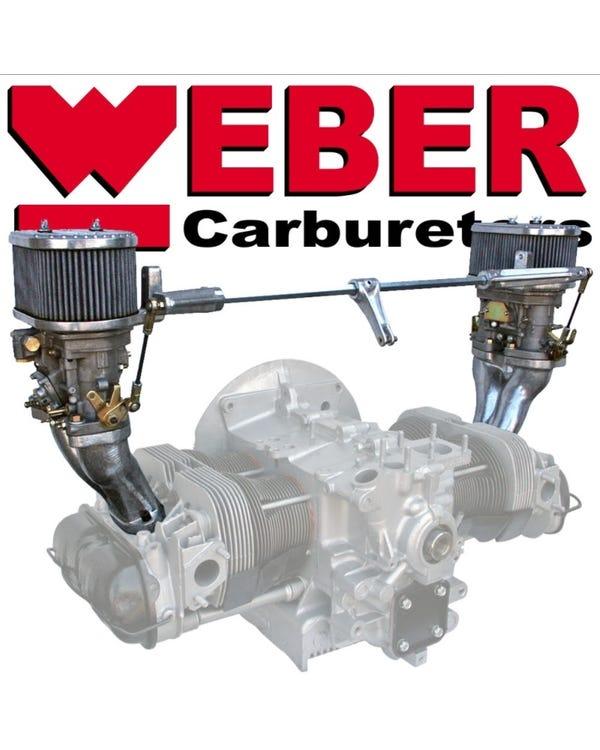 Weber Twin 40 IDF Carburettor Kit, Twin Port