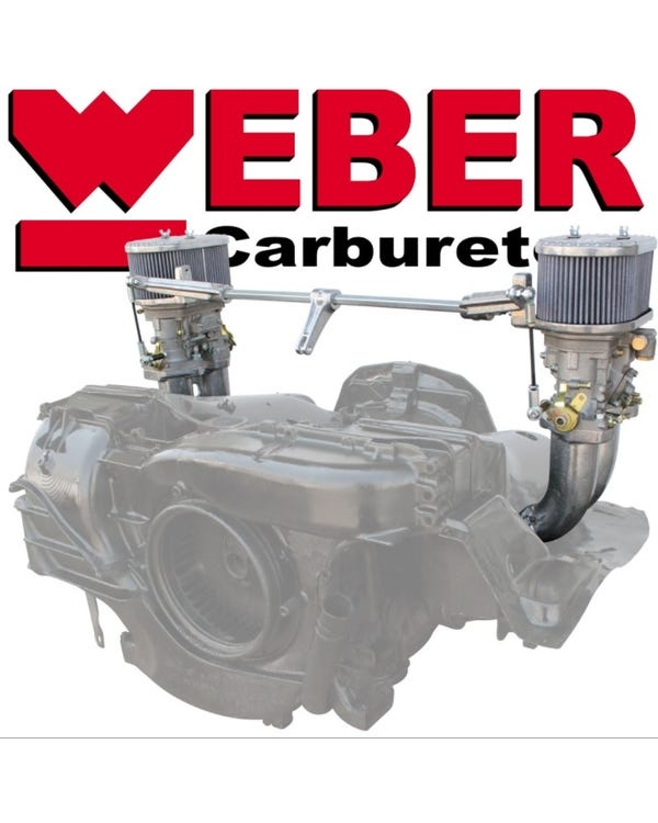 Kit carburadores Weber 40 IDF. Motor tipo 4