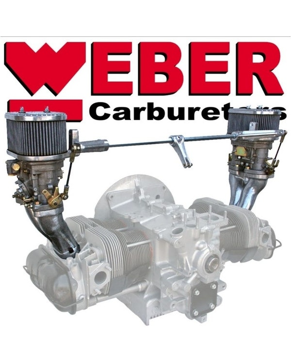 Kit carburadores Weber 44 IDF