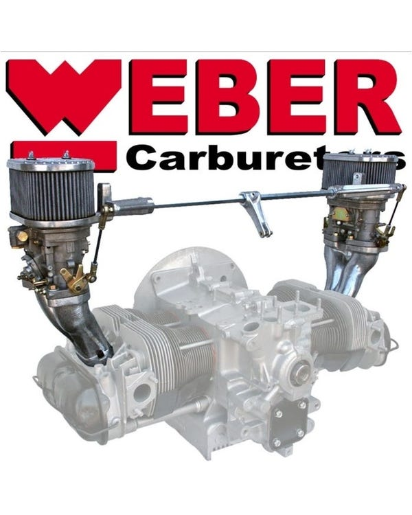 Weber Twin 44 IDF Carburettor Kit, Twinport