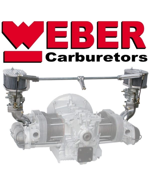 Kit carburador Weber 34 ICT admisión simple. Motor 1300-1600