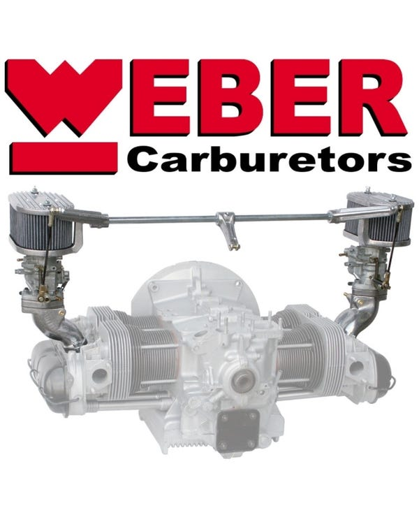 Weber Twin 34 ICT Carburettor Kit, Twin Port