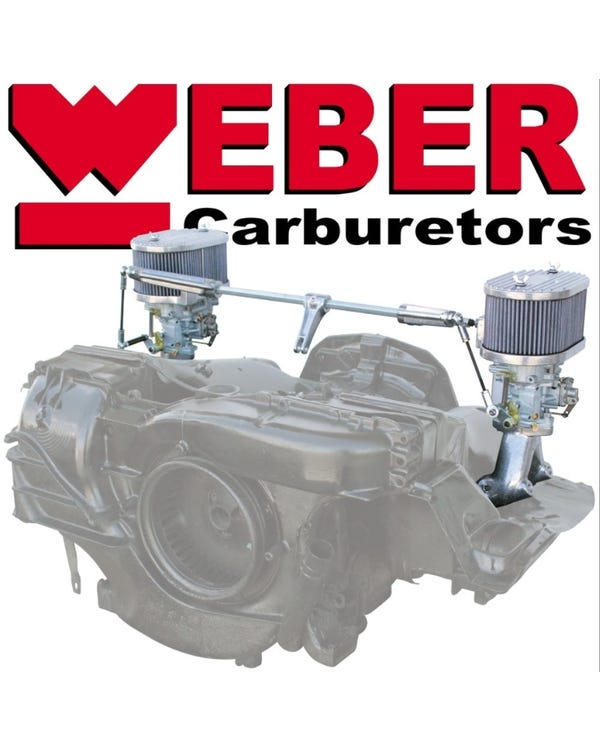 Weber Twin 34 ICT Carburettor Kit, Type 4