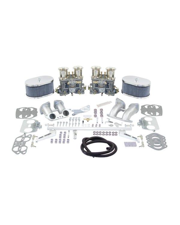Kit doble carburador Weber 44IDF. Motor Tipo 4