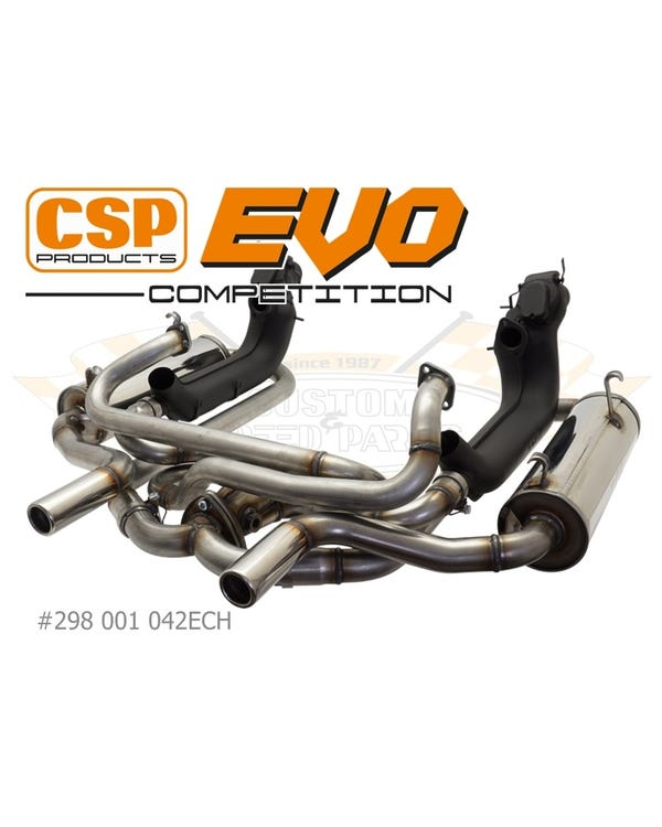 CSP Evolution Competition 42mm Exhaust-System with Heat Exchangers