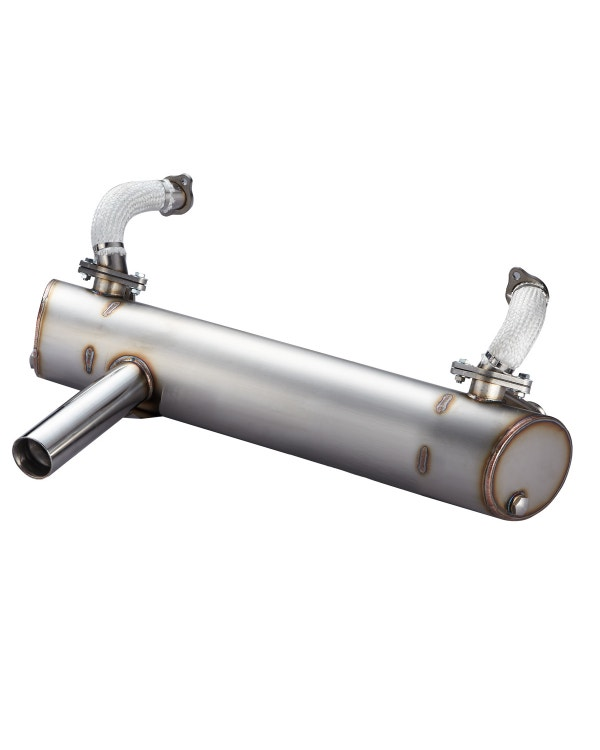 Vintage Speed Super Flow Sports Exhaust, Mexican Injection