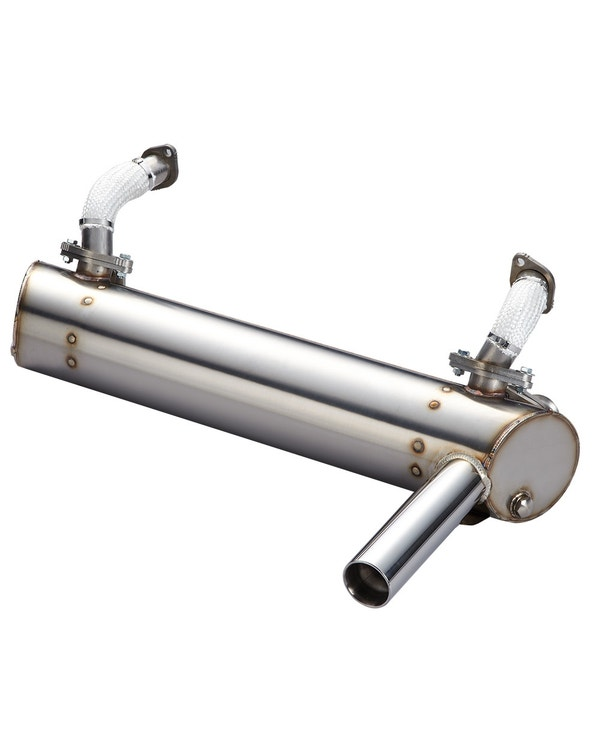 Vintage Speed High Performance Super Flow Exhaust for Injection