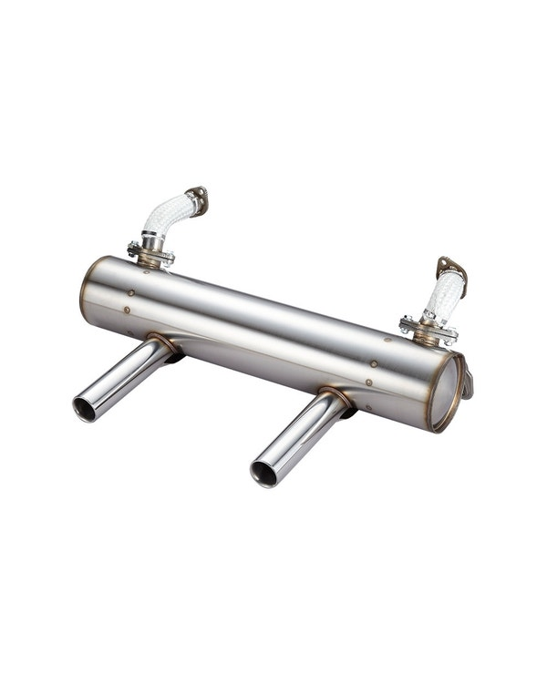Vintage Speed Super Flow Exhaust, Extreme Lowered Models