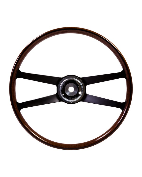 SSP Mahogany Steering Wheel inc Boss for Porsche. 417mm