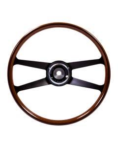 SSP Mahogany Steering Wheel inc Boss for Porsche. 395mm