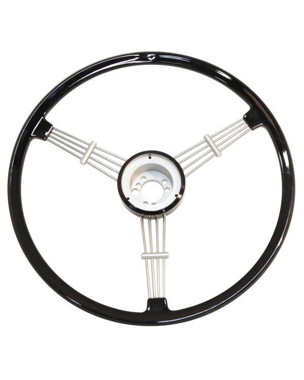 SSP Banjo Steering Wheel Black