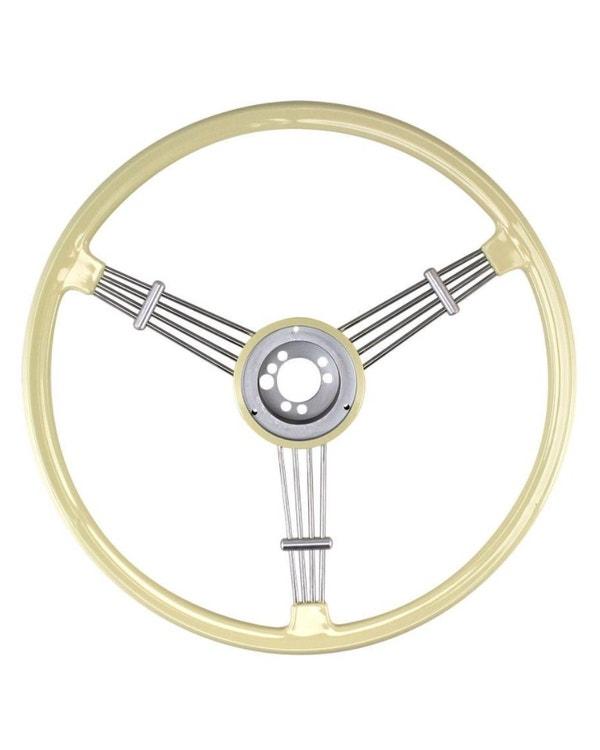 SSP Banjo Steering Wheel Ivory Coloured