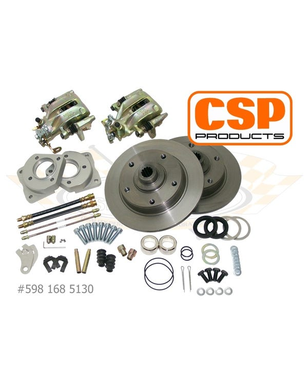 CSP Rear Disc Brake Kit for 5x130 Stud Pattern