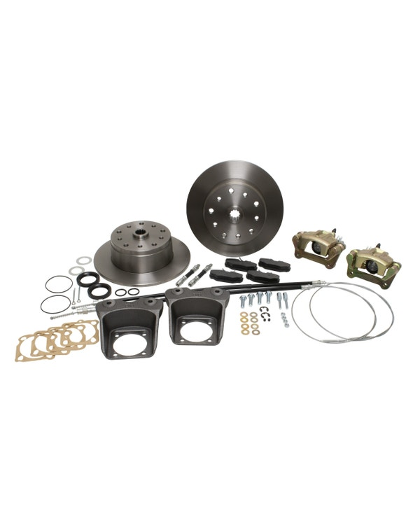 EMPI Rear Brake Disc Kit For 5x130 or 5x4.75'' Stud Pattern