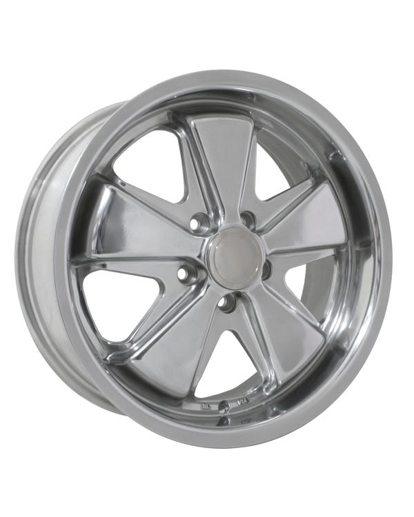 "SSP Fooks Alloy Wheel with Fully Polished Finish 7x17"", 5/112 PCD, 5.57""BS"
