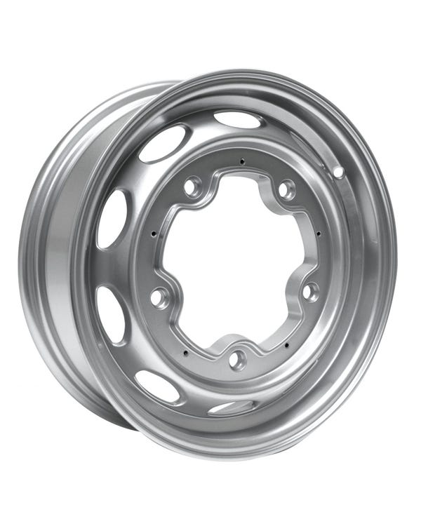 "EMPI 190 Alloy Wheel, Silver 4.5x15"", 5/205, ET34"