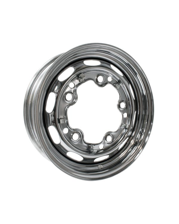 Chrome Steel Wheel 4.5Jx15'' with 5x205 Stud Pattern