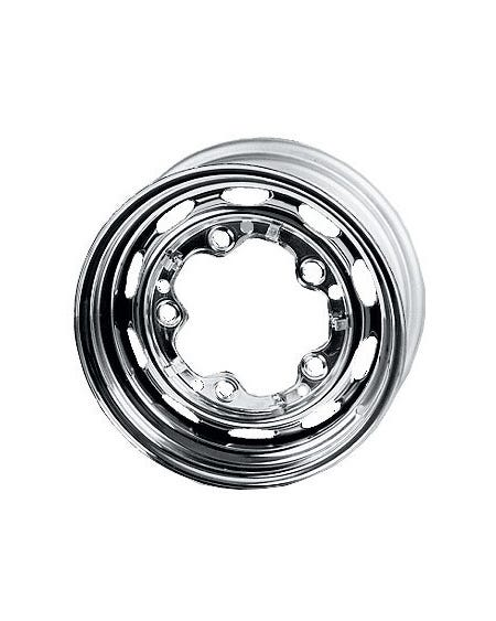 Chrome Steel Wheel 5.5Jx15'' with 5x205 Stud Pattern
