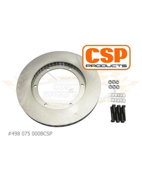 Gelüftete vordere Bremsscheibe für alle 15'' CSP Bremssysteme