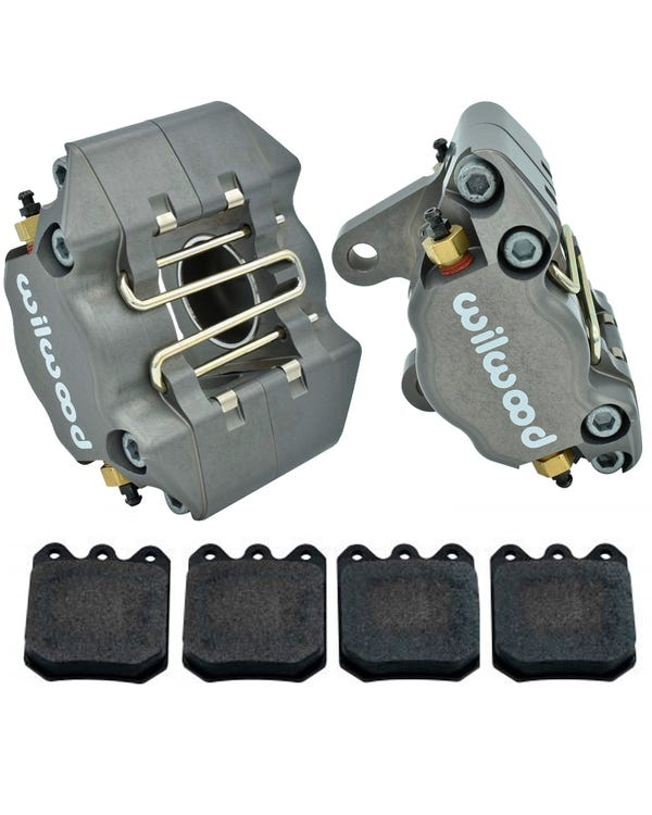Wilwood Calipers & Pads for Disc Brake Spindles