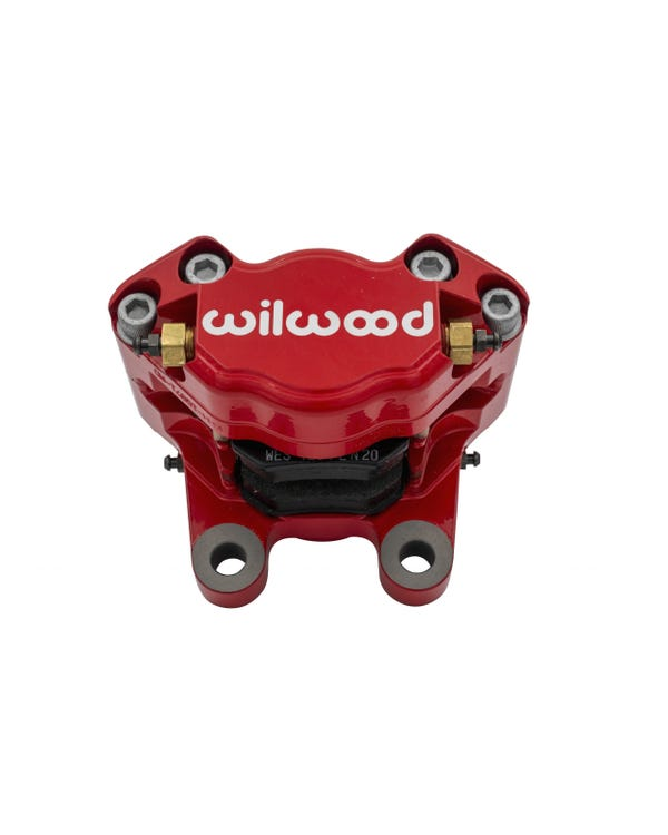 Wilwood Calipers & Pads for Standard Disc Spindles Red Powdercoated