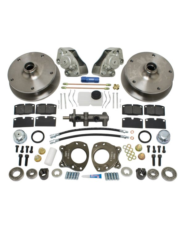 EMPI Front Disc Brake Kit with 5x205 Stud Pattern for Left Hand Drive