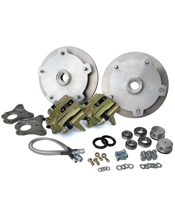 Front Disc Brake Kit with 5x205 Stud Pattern for Standard Spindles