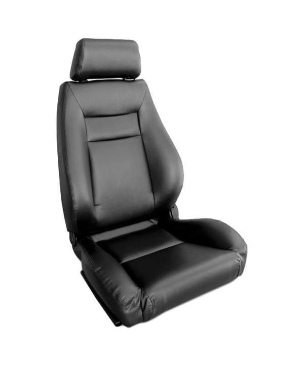 Scat Elite Sitzbezug für den linken Vordersitz, schwarz