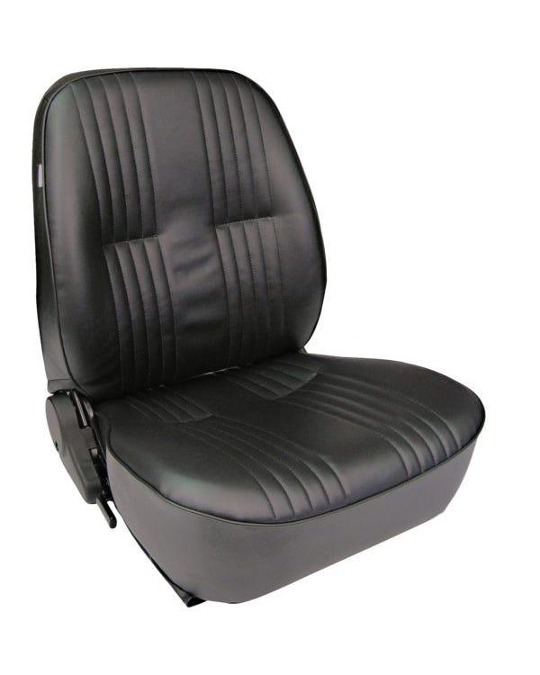 Scat Procar Sitzbezug für den linken Vordersitz mit niedriger Rückenlehne, schwarz