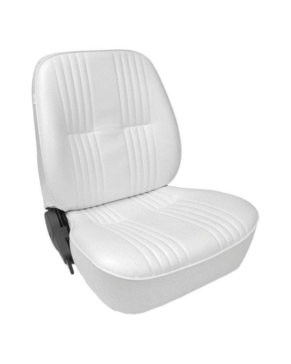 Scat Procar Pro-90 Lowback Seat, White Vinyl, Right