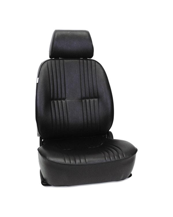 Scat Procar Pro-90 Seat, Black Vinyl, With Headrest, Left