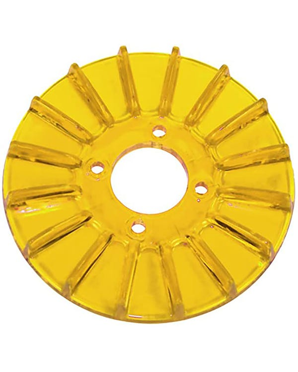 Alternator/Dynamo Pulley Cover, yellow-Gold
